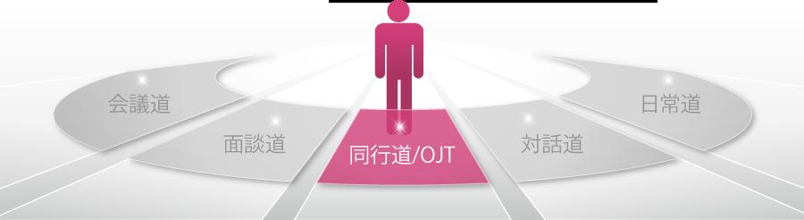 「5つのリーダー道」同行道/OJT